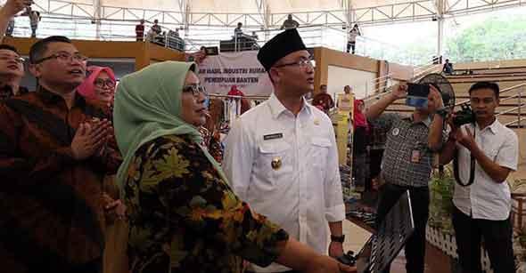 Wakil Gubernur Banten Launching Aplikasi SIJELITA
