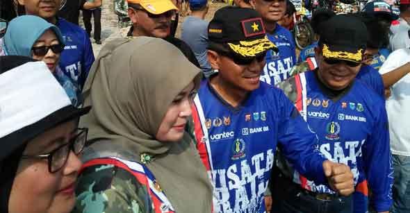 TNI Gelar Baksos di Tanjung Lesung