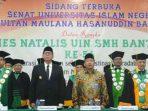 Dies Natalis UIN Banten, Sekjen Kemenag Ingatkan Keislaman dan Keindonesian