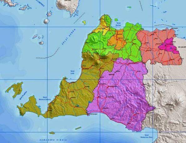 Daftar Kecamatan dan Kelurahan di Banten