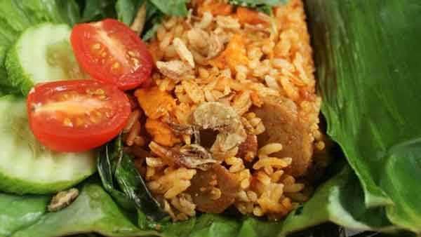 Grilled Fried Rice Recipe